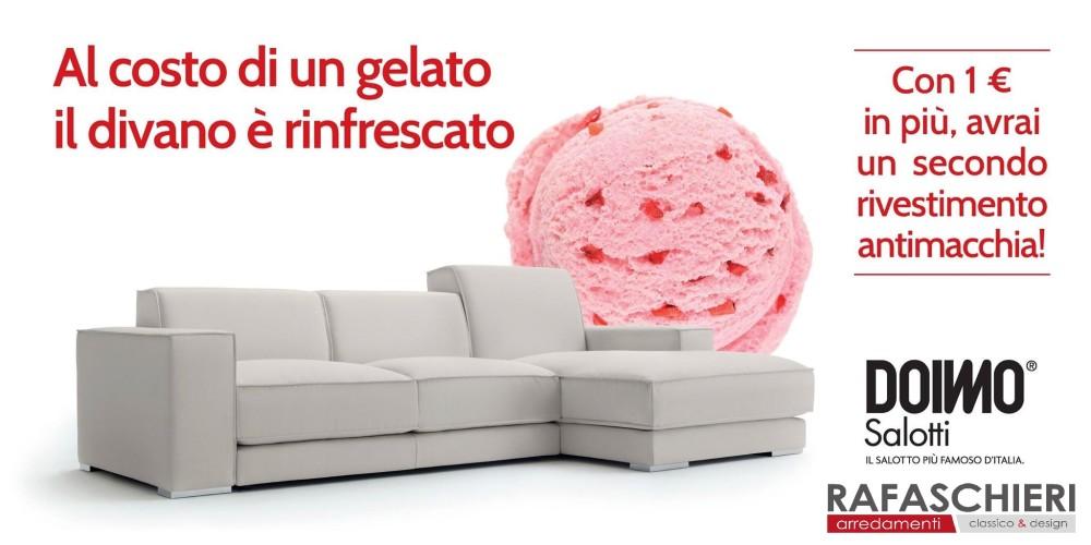 Promo doimo il divano rinfrescato al costo di un - Costo rivestimento divano ...