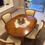 Tavolo classico allungabile Completo di sedie
