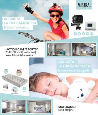 Promo - Acquista Mistral e ricevi subito l'action cam o il materasso memory in regalo!