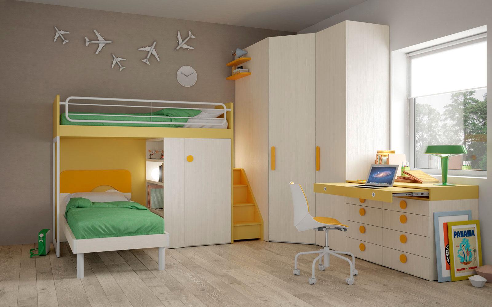 Camerette salva spazio le camerette salvaspazio - Camerette per bambini soluzioni salvaspazio ...