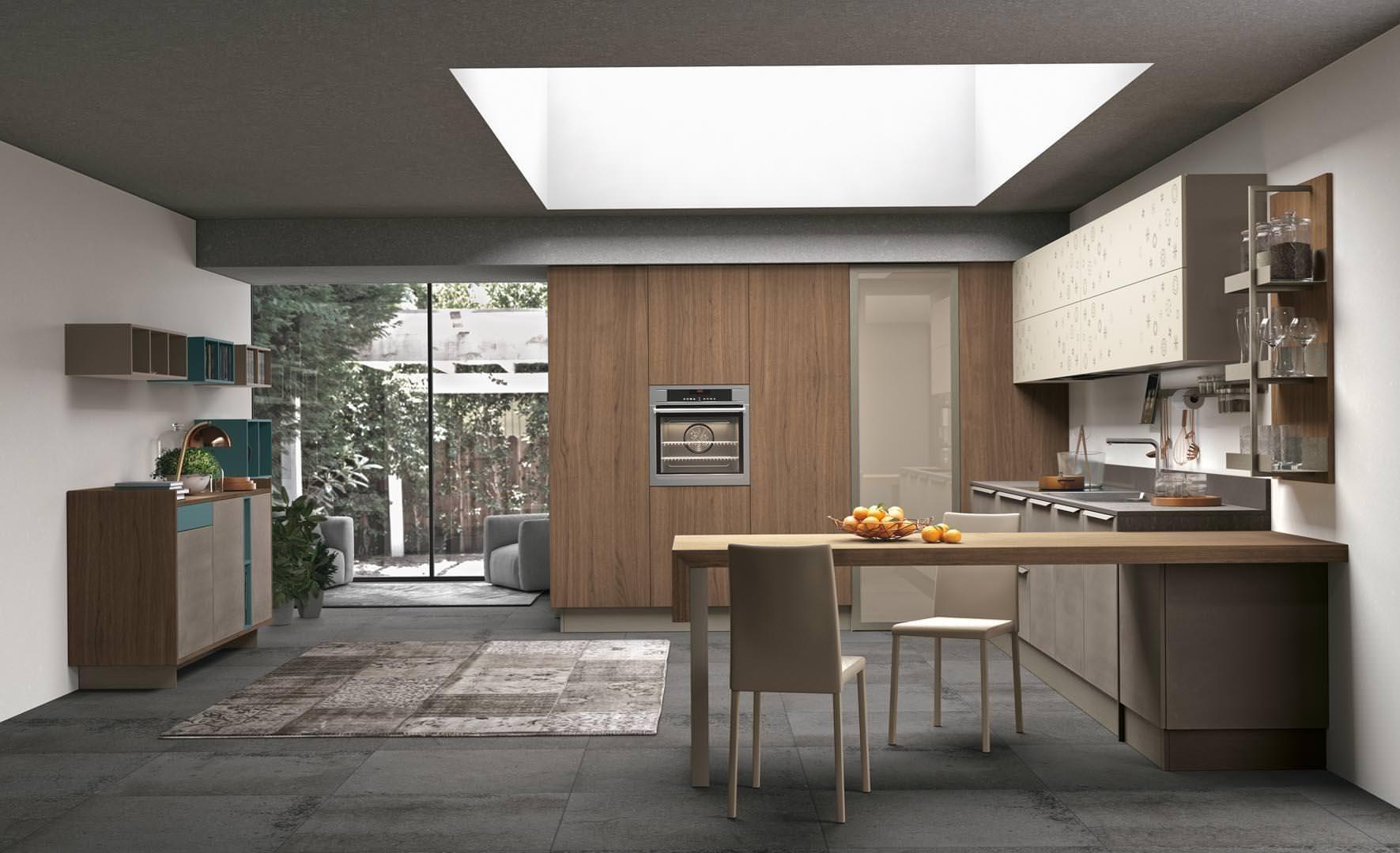 Novit cucine moderne a bari ecco la collezione lube clover bridge rafaschieri arredamenti - Cucine lube 2017 ...