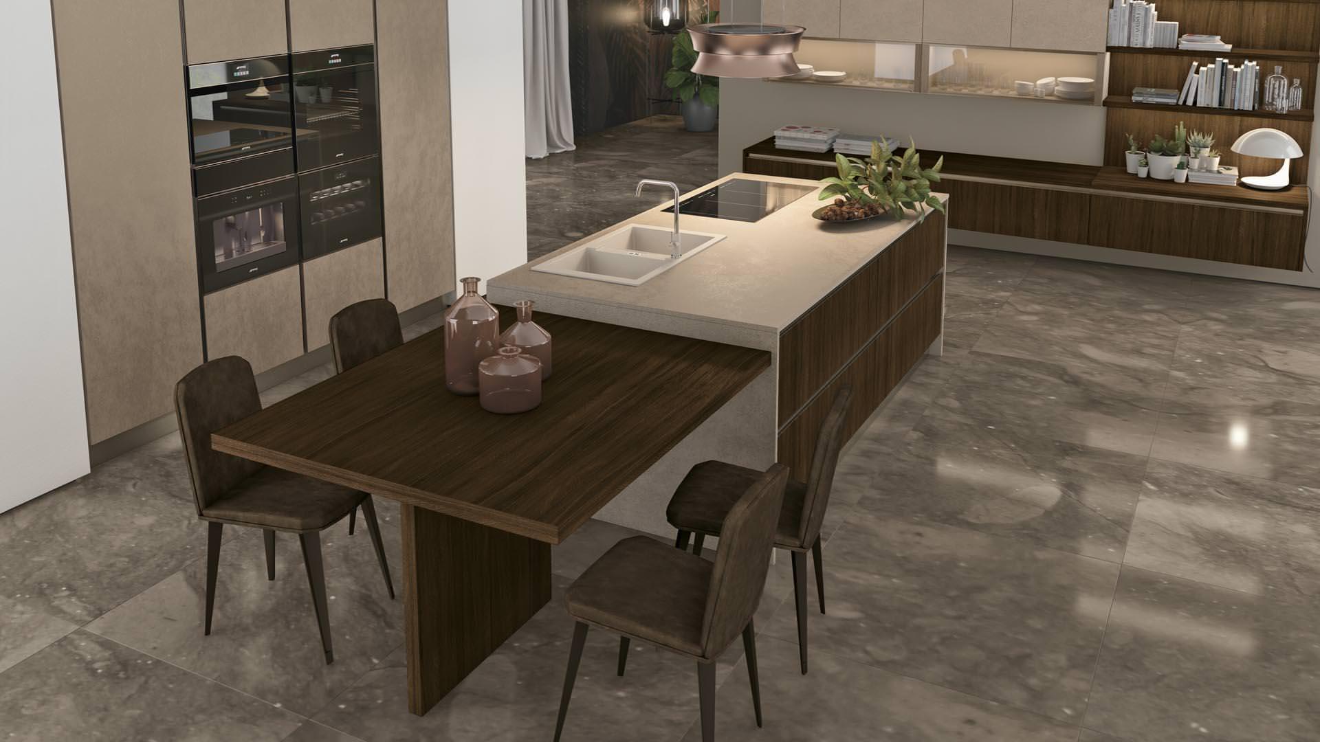 Cucine moderne arredamento mobili per casa e per ufficio for Piero ponzoni arredamenti bari