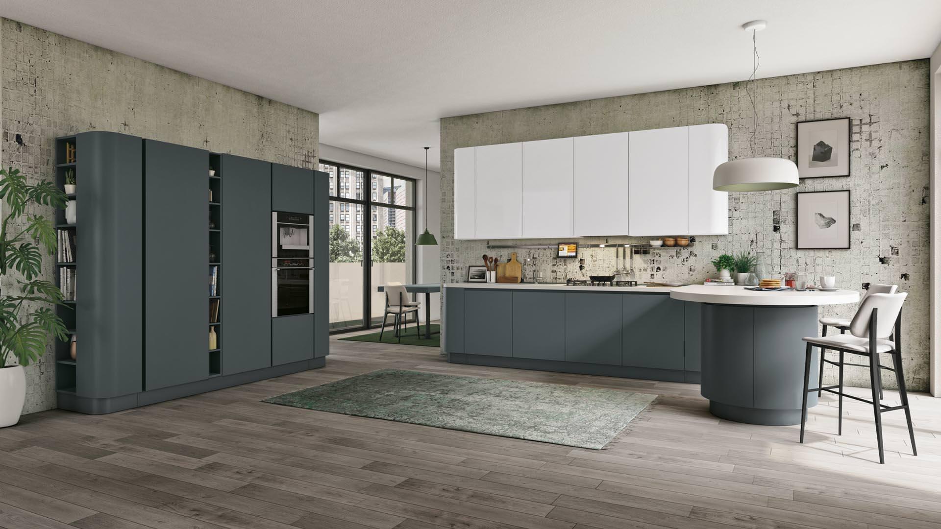 Novità Cucine moderne a Bari, ecco la collezione LUBE CLOVER NECK - Rafaschieri Arredamenti