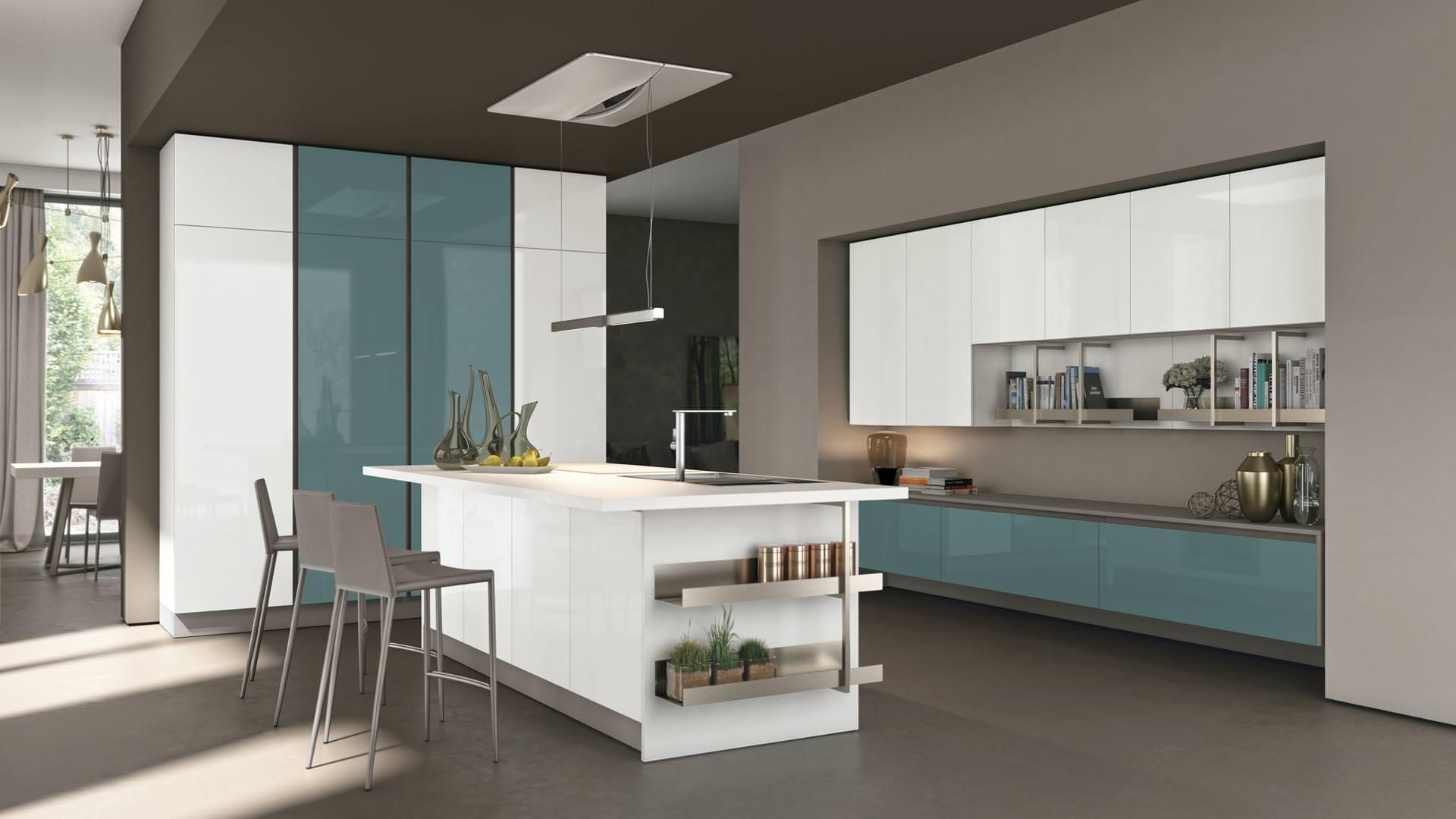 novità cucine moderne a bari, ecco la collezione lube clover neck ... - Cucine Moderne Bari