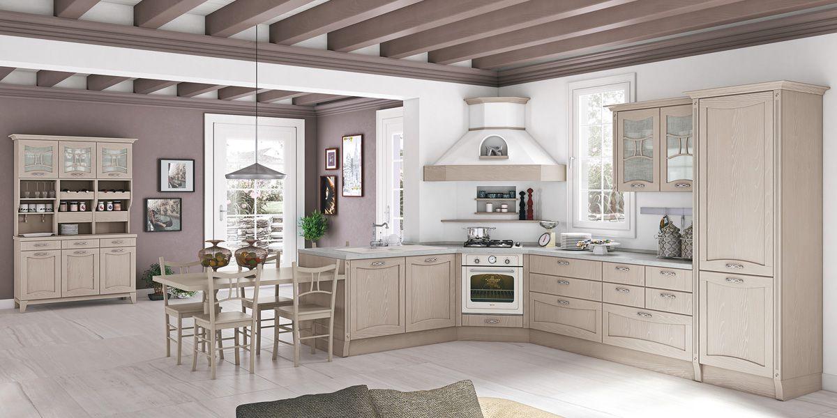 Cucina aurea di creo kitchens il classico il - Cucina classica contemporanea ...