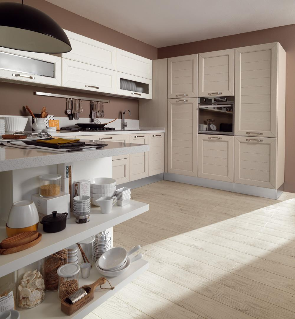 Cucina contemporanea classica claudia lube 14 rafaschieri arredamenti - Cucina classica contemporanea ...