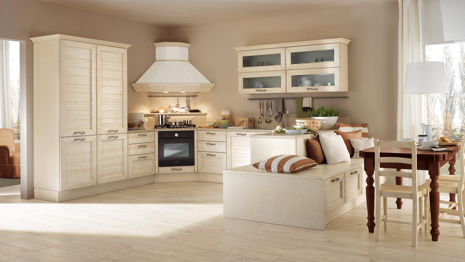 Emejing cucina lube classica pictures design ideas - Cucina classica contemporanea ...