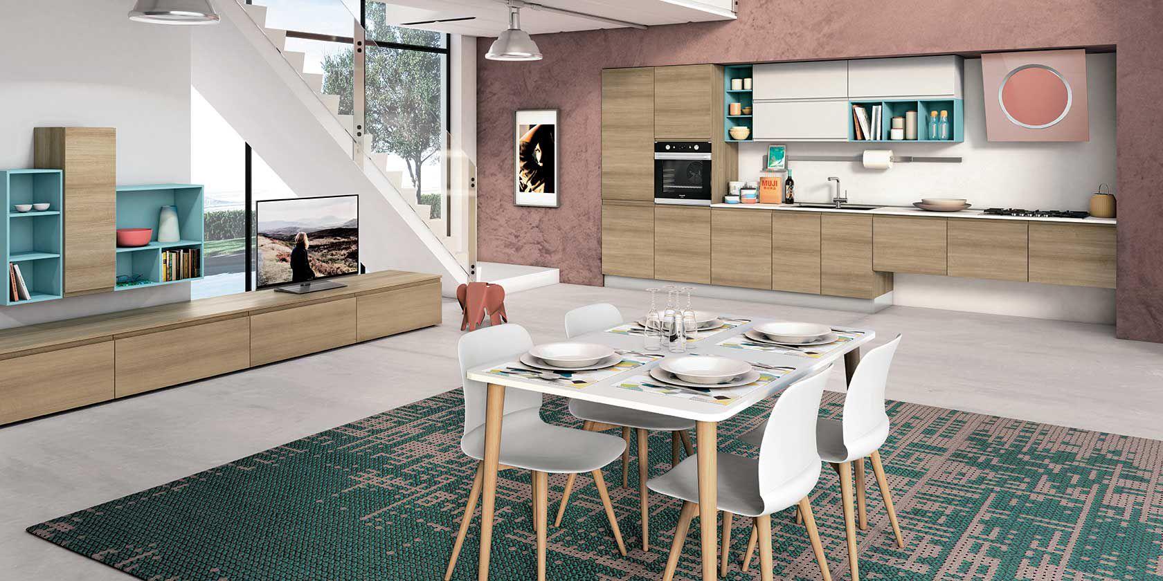 Cucina jey di creo kitchens stile e design essenziale for Prezioso arredamenti