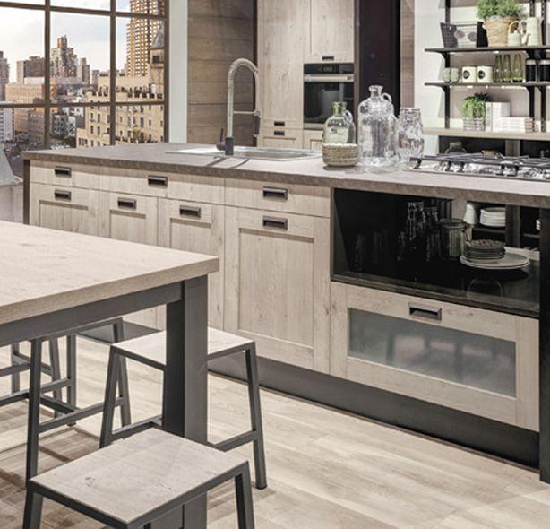 Cucina kyra telaio di creo kitchens caratterizza l - Cucina lube kyra ...