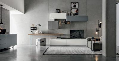 Mobili per un soggiorno moderno: idee e soluzioni componibili firmate Gruppo Tomasella