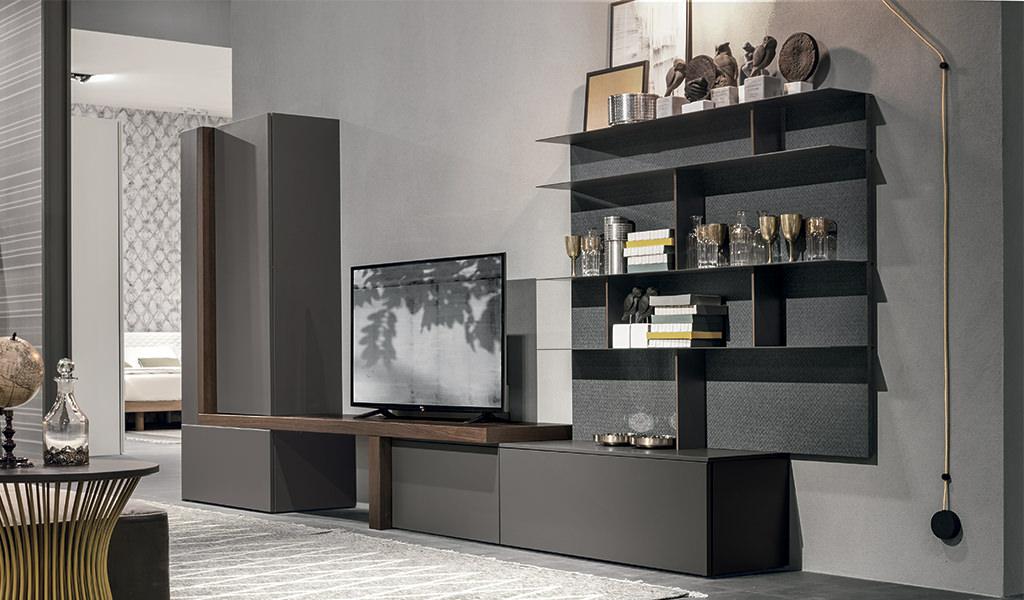 Mobili per un soggiorno moderno idee e soluzioni for Idee quadri soggiorno