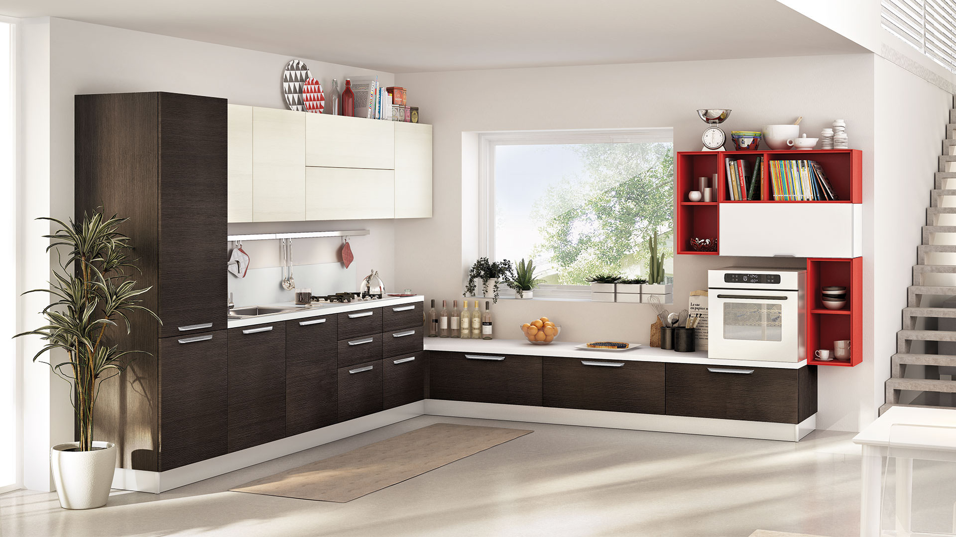 cucine-ad-angolo-lube-6 - Rafaschieri Arredamenti