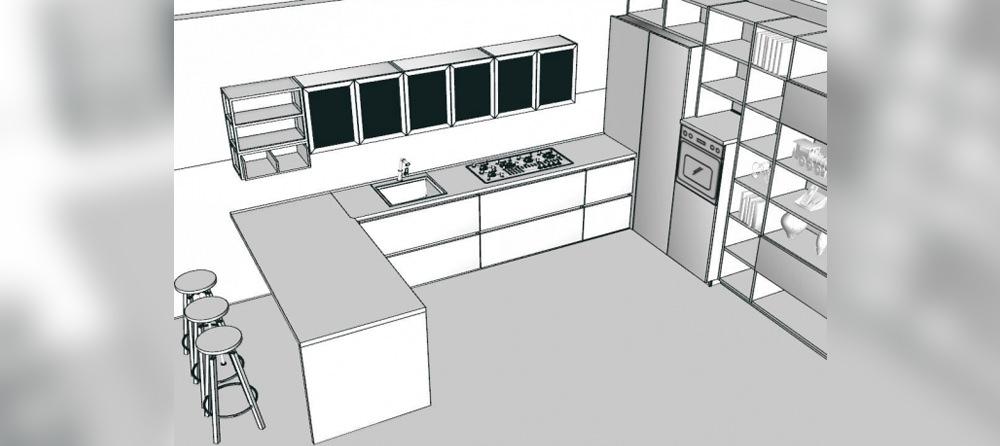 Le 5 categorie di cucina per coprire qualsiasi necessit - Cucine a ferro di cavallo ...