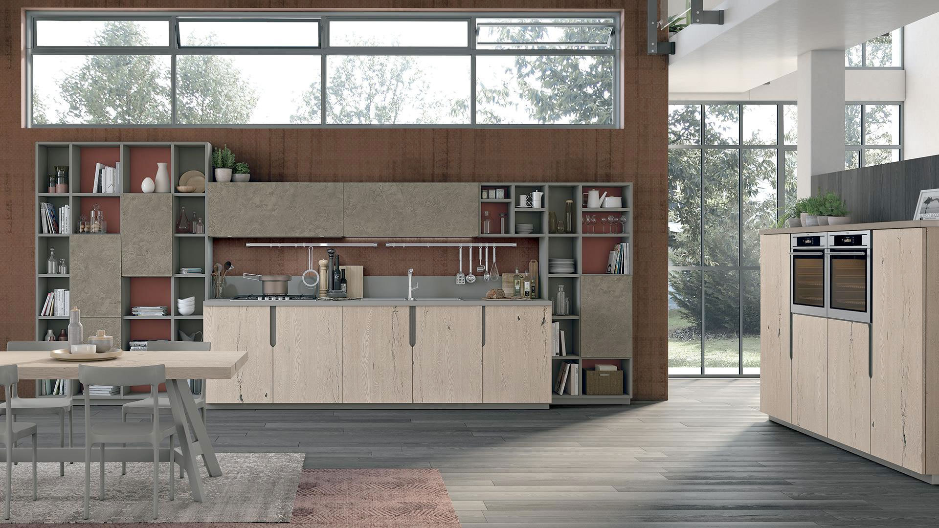Cucine lineari lube 5 rafaschieri arredamenti for Offerte cucine lineari