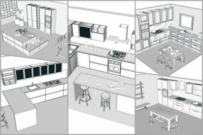 Le 5 categorie di cucina per coprire qualsiasi necessità