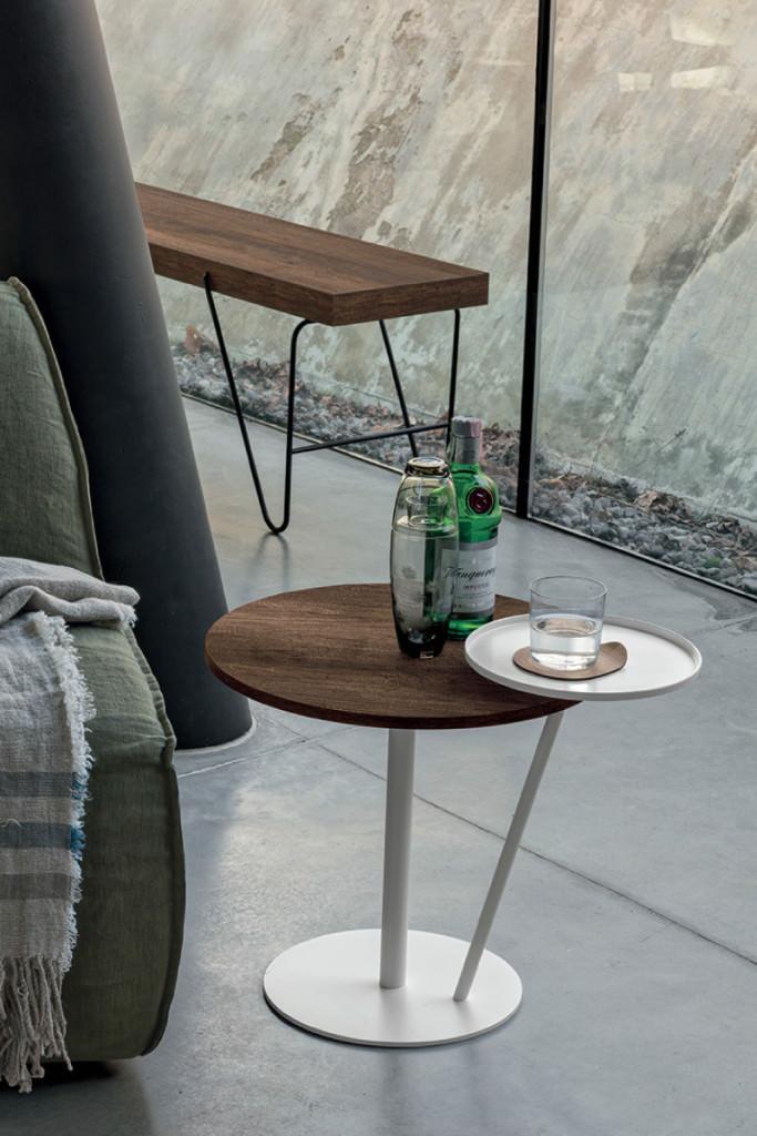 Eclisse tavolino da salotto rotondo 2 rafaschieri - Tavolino salotto rotondo ...