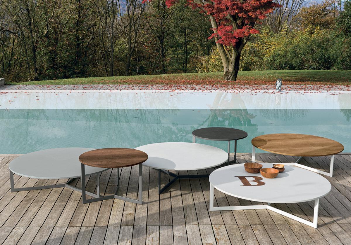 Tavolini comodi e pratici di gruppo tomasella complementi - Tavolino salotto rotondo ...