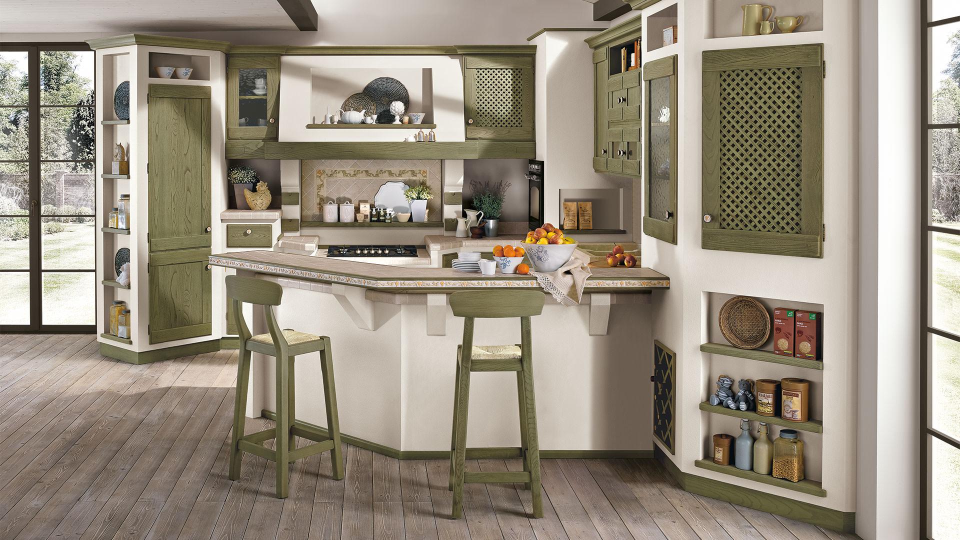 Cucina lube classica contemporanea anita 11 rafaschieri - Cucina classica contemporanea ...