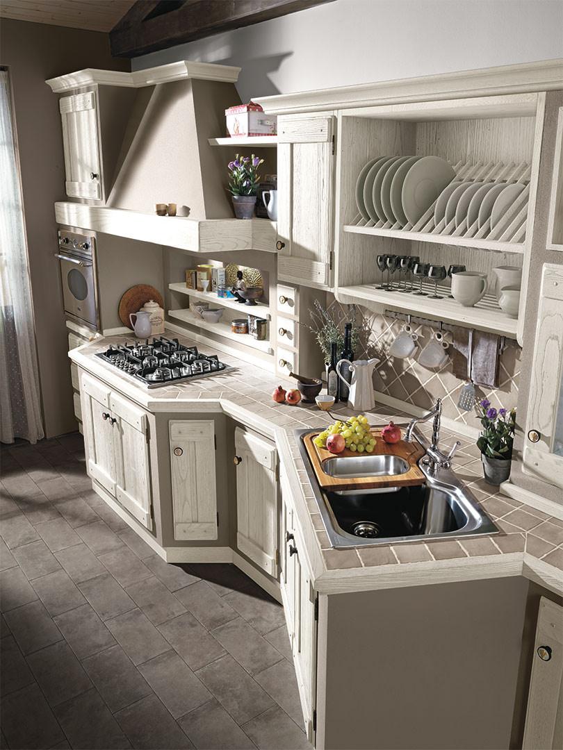 Cucina lube classica contemporanea anita 3 rafaschieri arredamenti - Cucina classica contemporanea ...