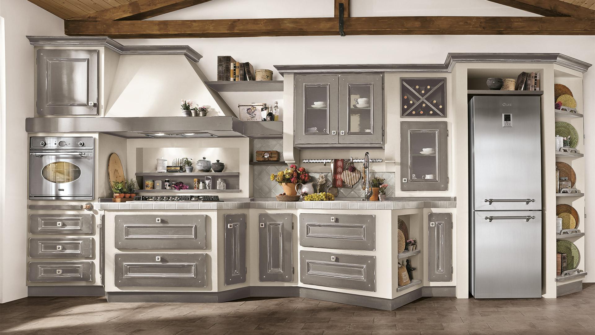 Cucina lube classica contemporanea beatrice 1 rafaschieri arredamenti - Cucina classica contemporanea ...