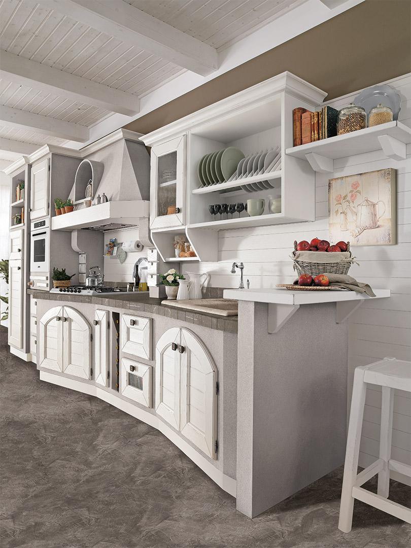 Cucina lube classica contemporanea luisa 1 rafaschieri arredamenti - Cucina classica contemporanea ...