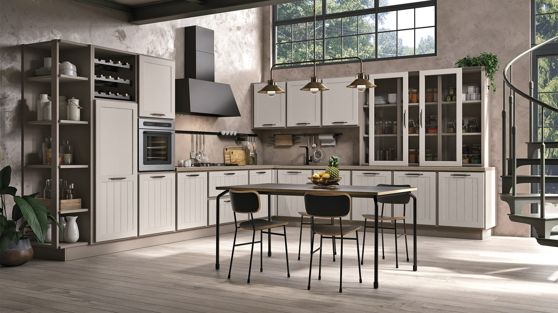 Cucina lube contemporanea provenza 7 rafaschieri arredamenti for Arredamenti lube