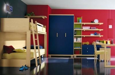 Camerette varie per bambini e ragazzi