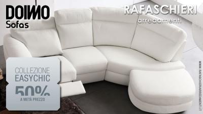 Doimo Sofas-Rafaschieri collezione divani EASYCHIC al 50%