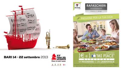 Fiera del Levante 2013: Rafaschieri presente con una promozione da urlo