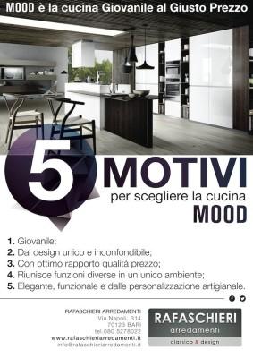 5 Motivi per scegliere Mood, la cucina Giovanile al Giusto Prezzo