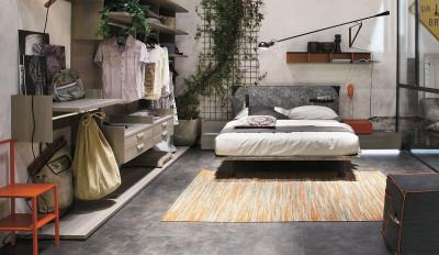 Composizioni varie di camere da letto moderne