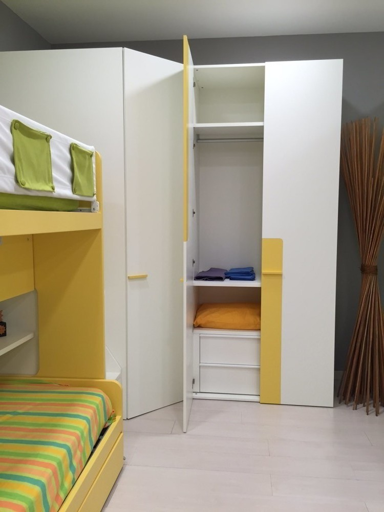 Cameretta Zalf con cabina armadio scontata - Rafaschieri Arredamenti