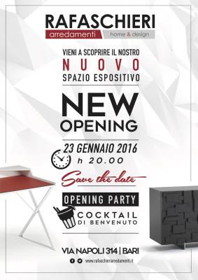 New Opening - Il Nostro Nuovo Spazio - 23 gennaio 2016
