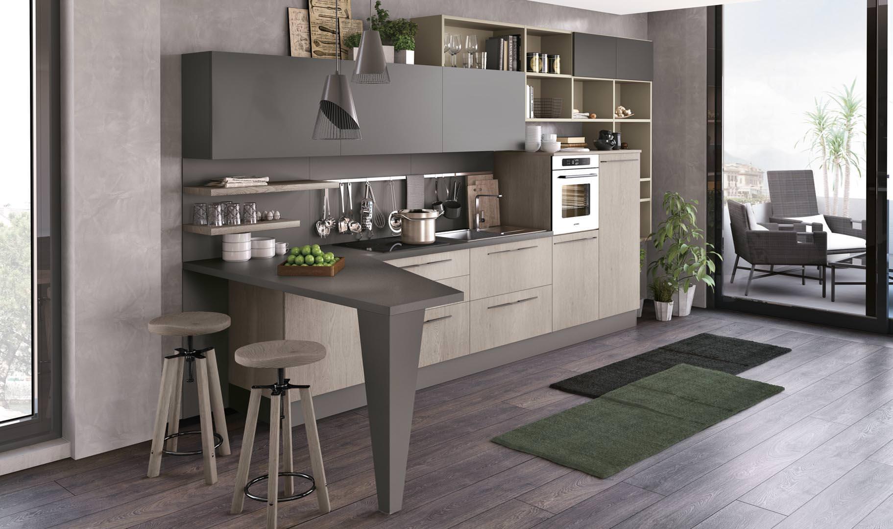 Cucina LUBE CLOVER BRIDGE - unicità e personalità ...