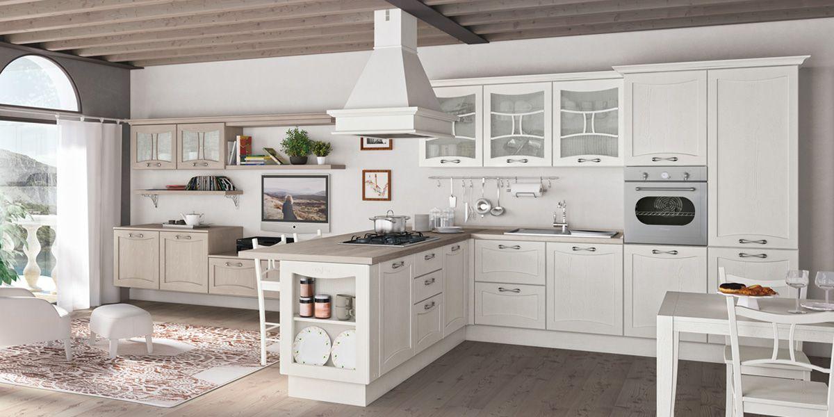 Cucina aurea di creo kitchens il classico il contemporaneo e l originale stile new folk - Cucina classica contemporanea ...