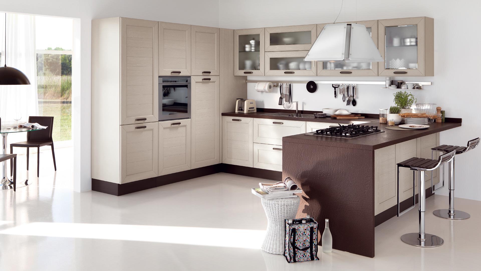 Cucina classica lube claudia stile contemporaneo per una bellezza sorprendente rafaschieri - Cucina classica contemporanea ...