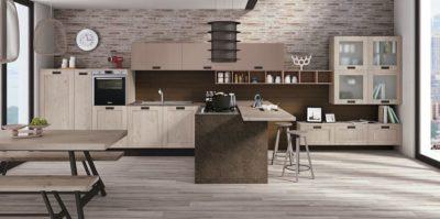Cucina 'KYRA TELAIO' di Creo kitchens - caratterizza l'ambiente cucina e living in modo originale