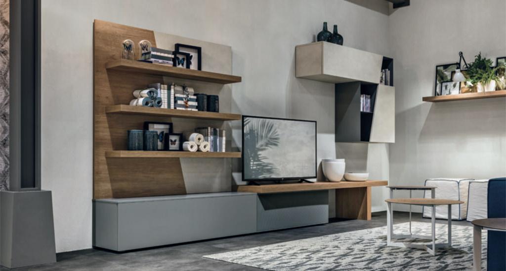 Mobili per un soggiorno moderno: idee e soluzioni componibili ...