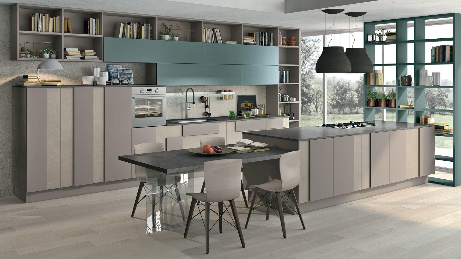 Le 5 categorie di cucina per coprire qualsiasi necessit - Cucine con isola lube ...