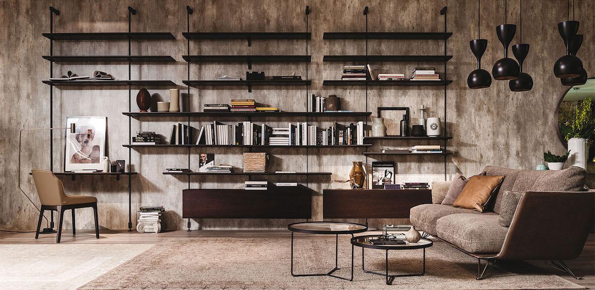 Libreria A Muro In Legno.Librerie Creative Di Cattelan Italia Stile Ed Originalita Si