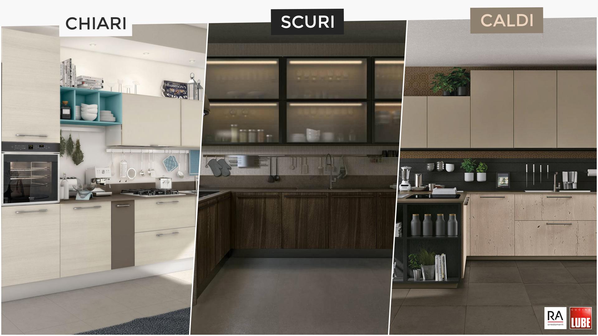 Cucine Moderne Scure.I Colori In Cucina Le Tonalita Da Scegliere In Base Al