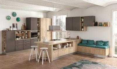 Cucina Rewind by Creo Kitchens - componibilità e funzionalità estetica per dare originalità alla tua cucina