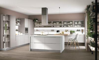 Cucina moderna LUBE LUNA - estrema eleganza e praticità