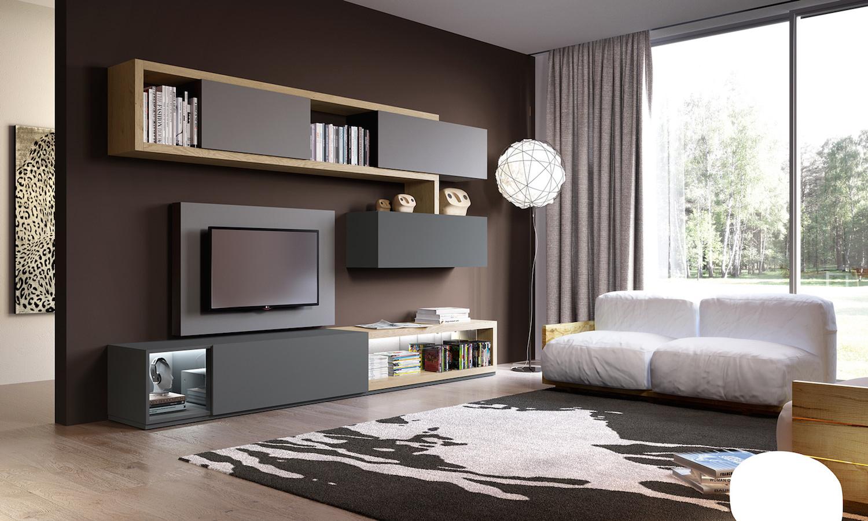 Idee Per Mobili Tv.Soggiorni Moderni Sky 2 0 By Astor Mobili Gusto Pratico Ed