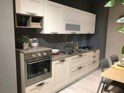 Cucina LUBE/CREO in legno - completa di elettrodomestici