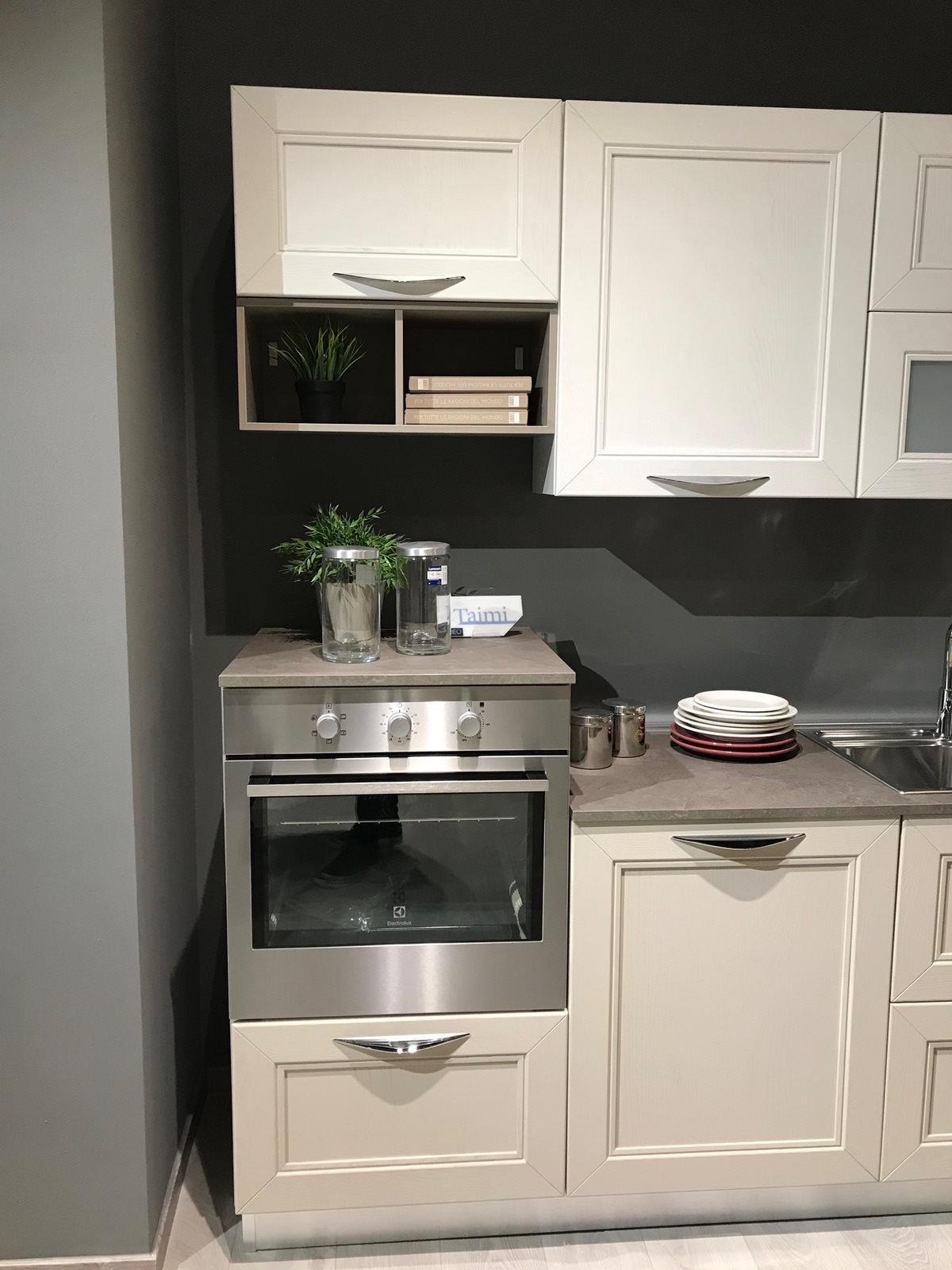 Cucina Lube Creo In Legno Completa Di Elettrodomestici Rafaschieri Arredamenti