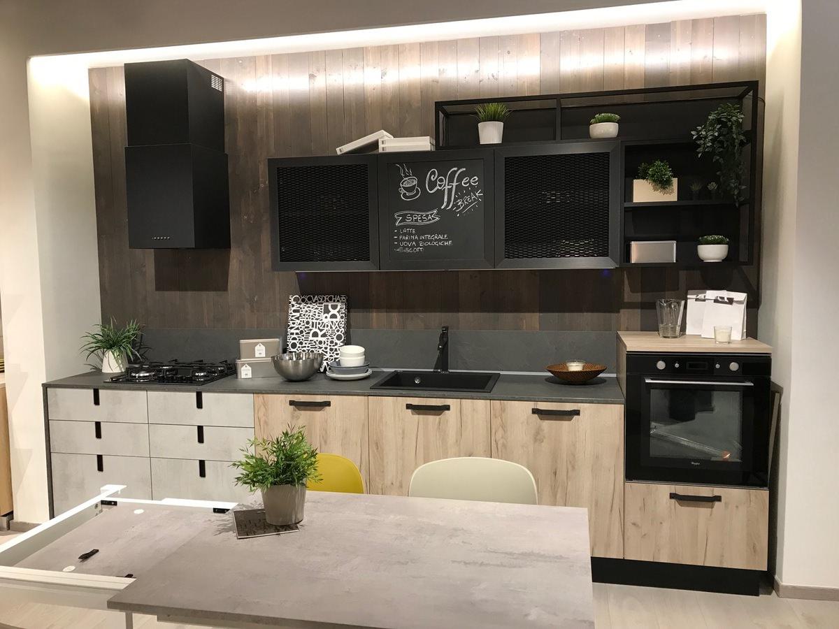 Cucina LUBE Industrial - completa di elettrodomestici ...