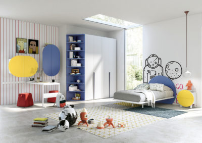 Camere per bambini e ragazzi 'TIRAMOLLA' by Tumidei - Young Design System - PT. 2/2