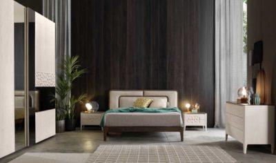 Collezione notte e camere da letto 'MOON' by Modo 10 - Il nuovo contemporaneo che esalta il fascino materico del legno naturale