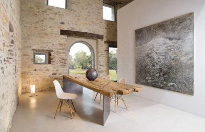 Tavoli di legno naturale by Nature Design: la bellezza parte da radici profonde